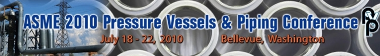 2010 Pressure Vessels & Piping Conference